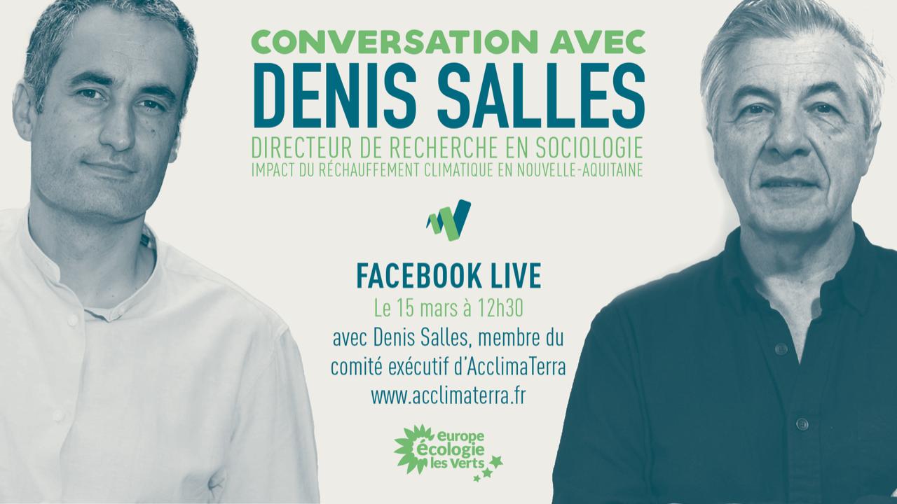 Visuel Conversation avec Denis Salles, sociologue de l'environnement