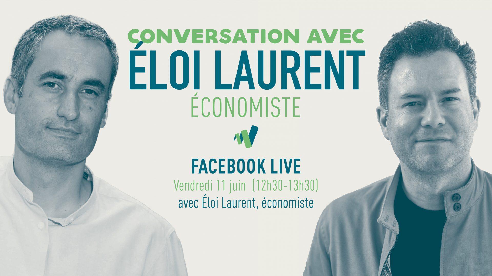 Visuel Conversation avec Éloi Laurent